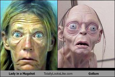 lady-in-a-mugshot-totally-looks-like-gollum