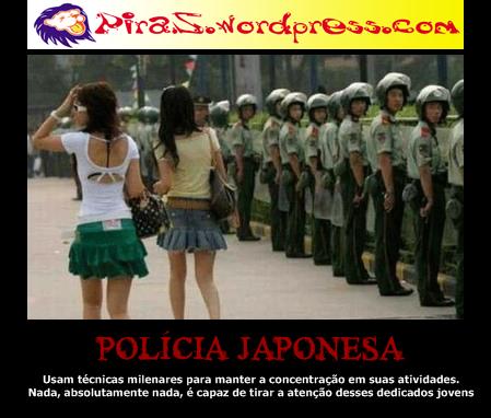 piras placas motivaiconais policia japonesa