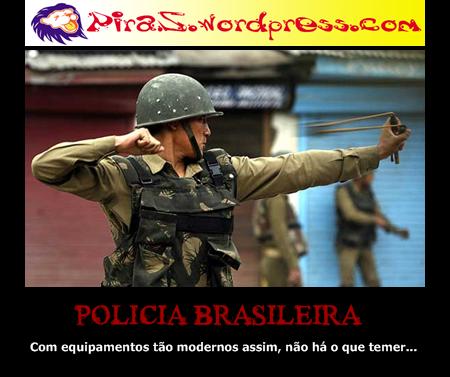 piras placas motivacionais policia brasileira