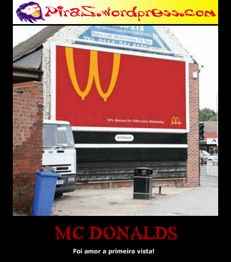 piras placas motivacionais mc donalds